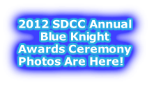 2012 SDCC Annual Blue Knight Awards Ceremony Photos Are Here!